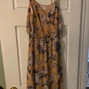 Sienna Sky floral wrap maxi dress